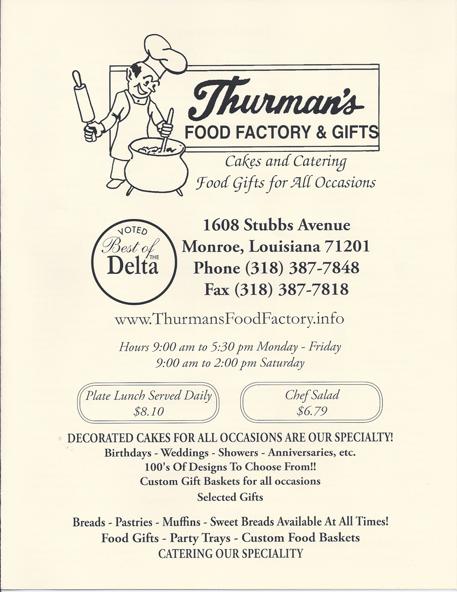 Thurmans Food Factory