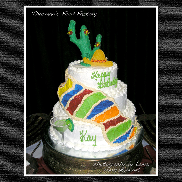 Thurmans Southwestern Party Cake